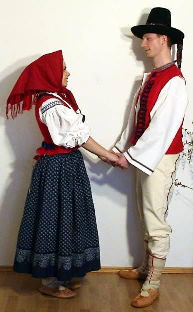 Folk costumes of Valašsko region, Czech Republic    http://24.media.tumblr.com/tumblr_mda7k31bLv1rqimr4o1_500.jpg