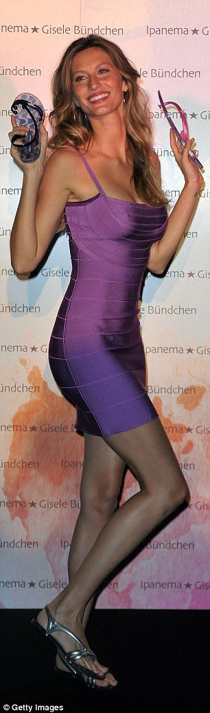 Sexy: His bandage dresses are beloved by stars like Gisele Bundchen and are still a red ca...