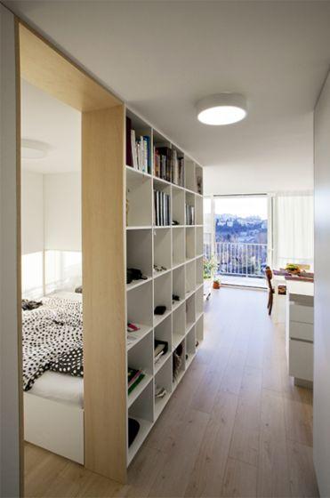 Ingreso a apartamento pequeño
