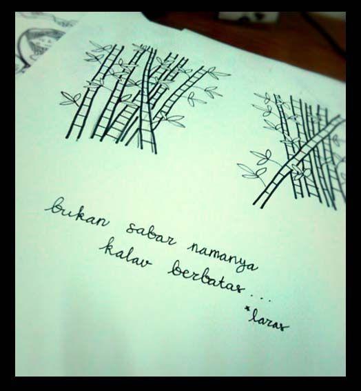 Bambu kesabaran :)