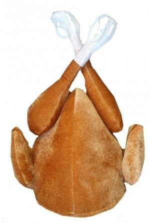Brown Turkey Christmas/Thanksgiving Fancy Dress Costume Hat