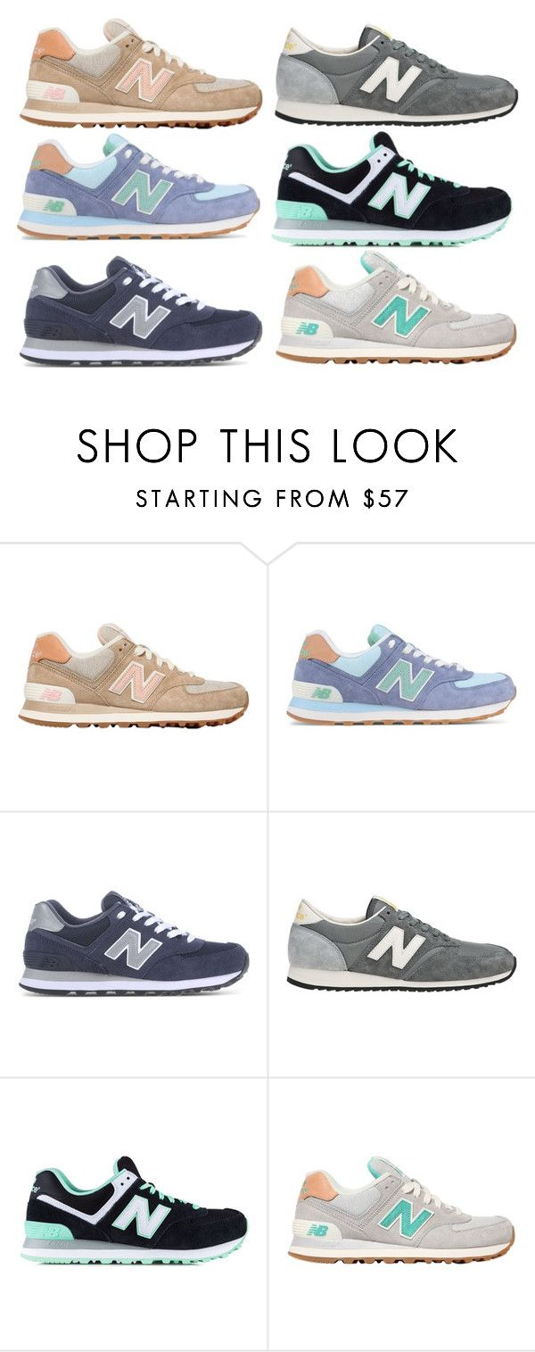 """new balance sneaks"" by molliemcclendon ❤ liked on Polyvore featuring New Balance, women's clothing, women, female, woman, misses, juniors and mksfavs"