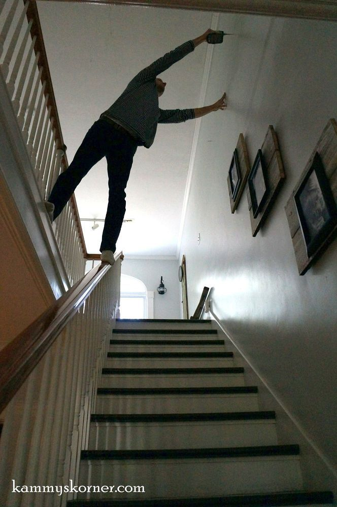 You won't be able to leave your stairwell blank after seeing this