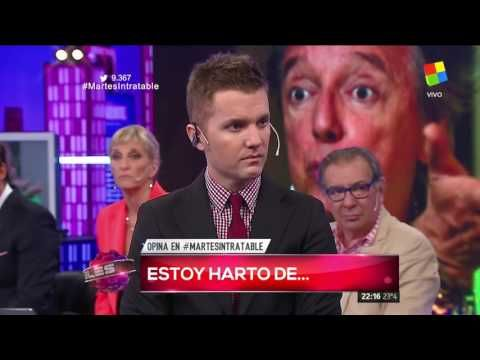 """#EstoyHartoDe  """"un momento de catarsis en Intratables"""""""
