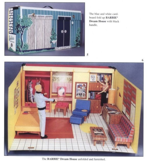 Barbie Dream House ca.1960  I had this house when I was little. I can't believe my mom let me sell it on a garage sale!