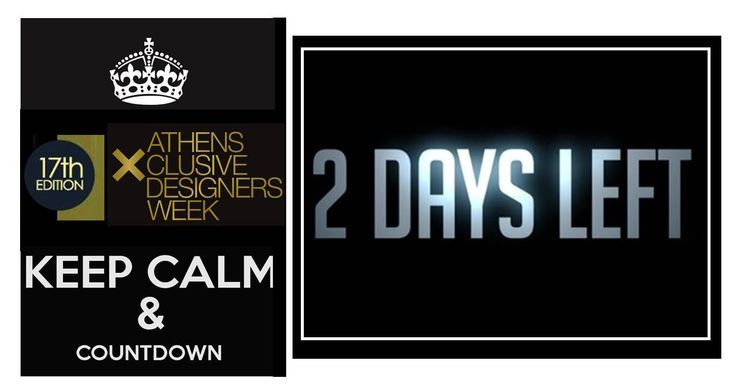 Time flies! OFFICIAL COUTDOWN! 2 days left for the 17thAXDW! Cannot wait to see you all on Saturday at 17.00 and on! :)