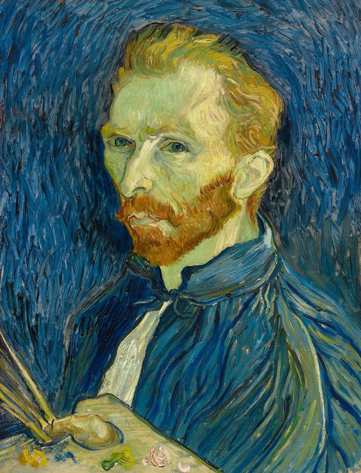 Van Gogh - Self-Portrait, 1889, oil on canvas