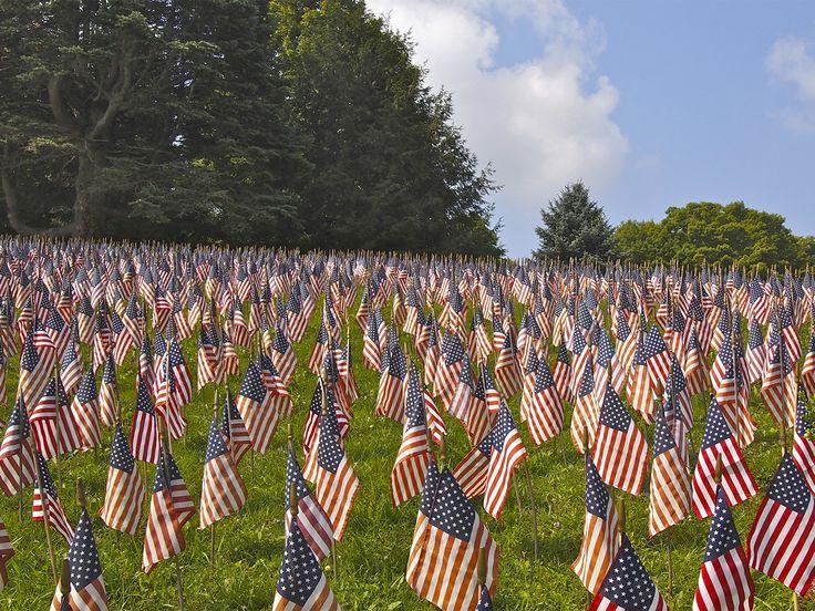 veterans day flag half mast