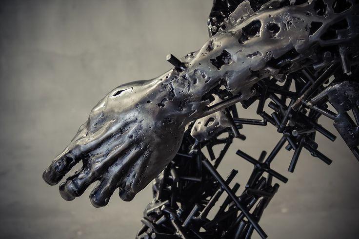 Regardt van der Meueln The Deconstructed Series  Steel sculpture