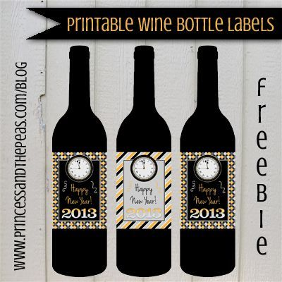 graphic relating to Free Printable Wine Bottle Label referred to as Printable Wine Bottle Labels