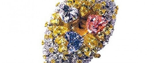 """16 million pound [about 25 million dollars] watch - most expensive watch in the world.""  Click through to read the stats on this ostentation.Chopard, Blue Diamonds, Expensive Watches, Yellow Diamonds, Expen Watches, Most Expensive, Pink Diamonds, 201 Carat, 201Carat"