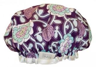 Tonic  shower cap - aztec purple