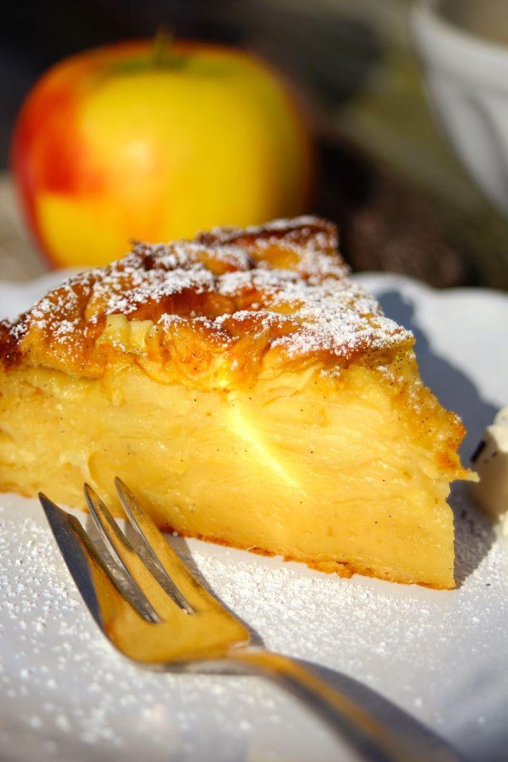 Paulas Frauchen: Apfel‑Vanille-Superkuchen