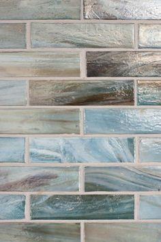 Beach tile for the bathroom.