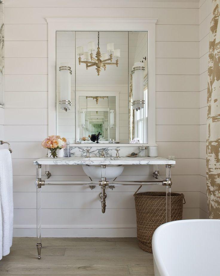 sink for powder room TRISHA TROUTZ: Hamptons Houses No 41
