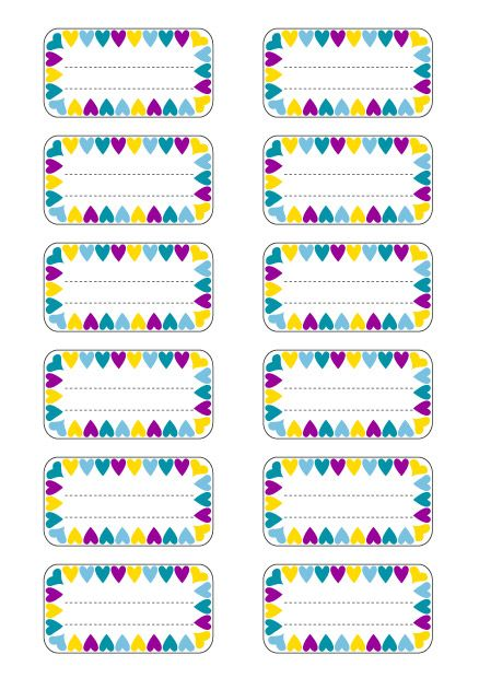 Super 100 best ✄ {Printable} Etiquettes ✄ images on Pinterest | Free  EA41