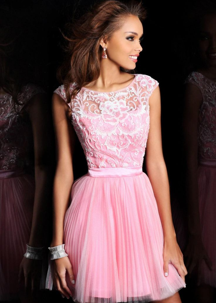 17 best images about Pink Cocktail Dress on Pinterest | Ruffled ...