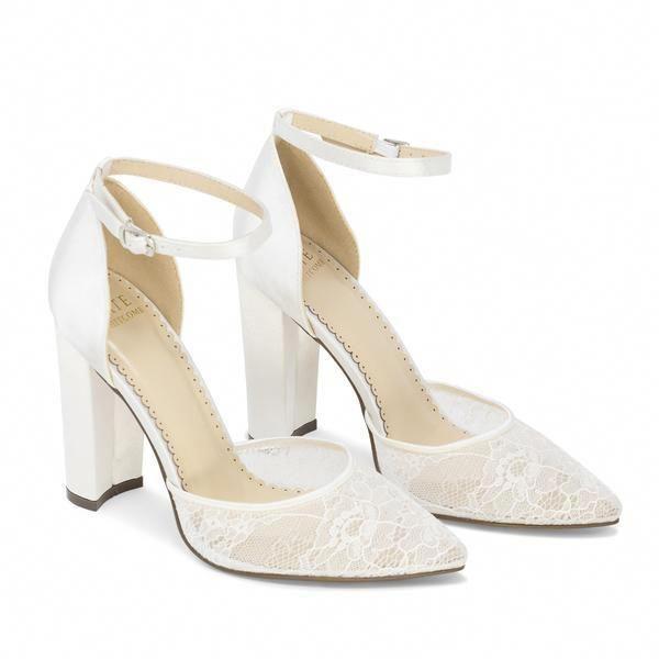 Lace Wedding Shoes Bridal Heels Bride Flat High Heel Hailey Ivory Kate Whitcomb Shoes Weddingb Bridal Heels Lace Wedding Shoes Ivory Wedding Shoes Lace