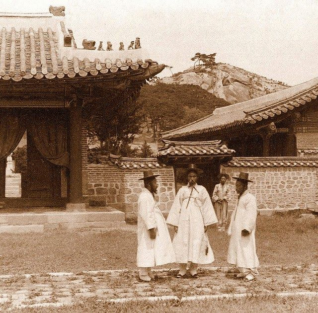Vintage Pictures of Daily Life in Korea from the 1900s