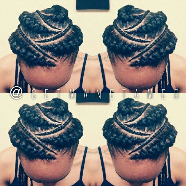 Peachy 1000 Images About Hair Ideas On Pinterest Ghana Braids Human Hairstyles For Women Draintrainus