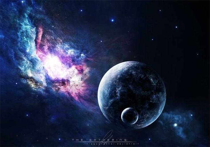 Space I Planets I Grafic art