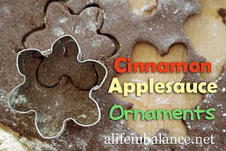 cinnamon-applesauce-ornaments by A Life in Balance, via Flickr