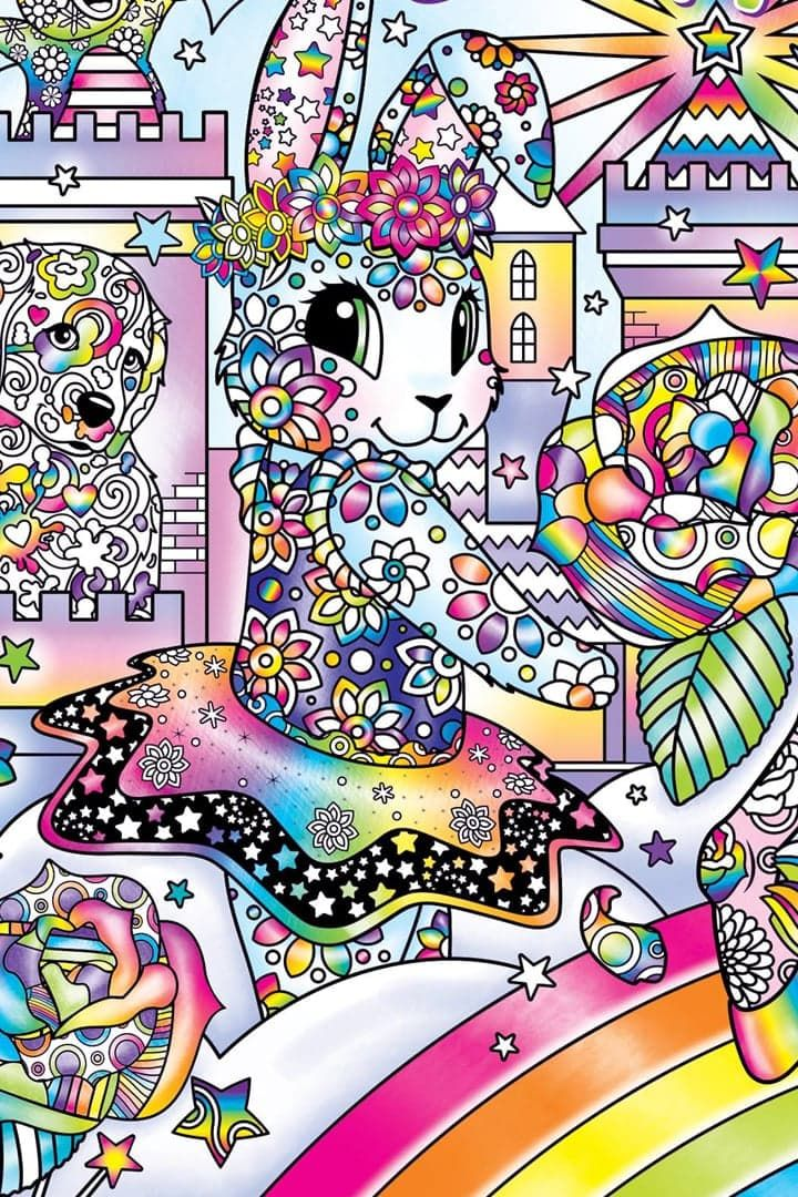 Stop What You're Doing — Lisa Frank's Adult Coloring Book Is Now Available