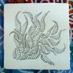 Zentangle Tiles - Liane Worth