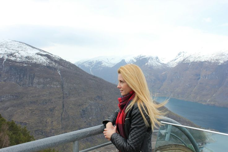 There is a whole new universe in her eyes..Norway, Aurandsfjellet