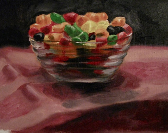 Bowl of Candy by chirtescu on Etsy, $175.00