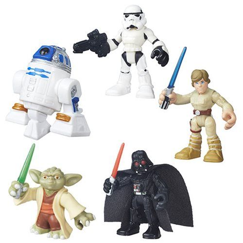 Star Wars Galactic Heroes Single Figures Wave 1 Set - Hasbro - Star Wars - Action Figures at Entertainment Earth