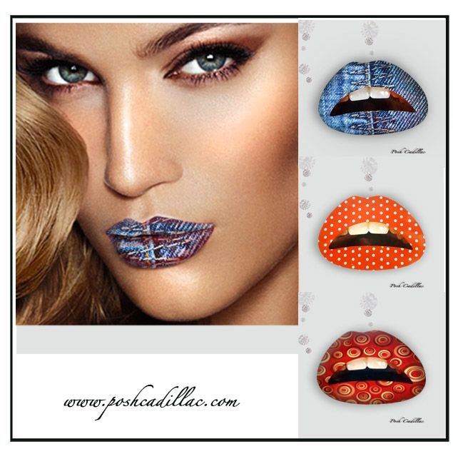 Glam up your lips with Lip Stickers! These fierce temporary lip tattoos will…