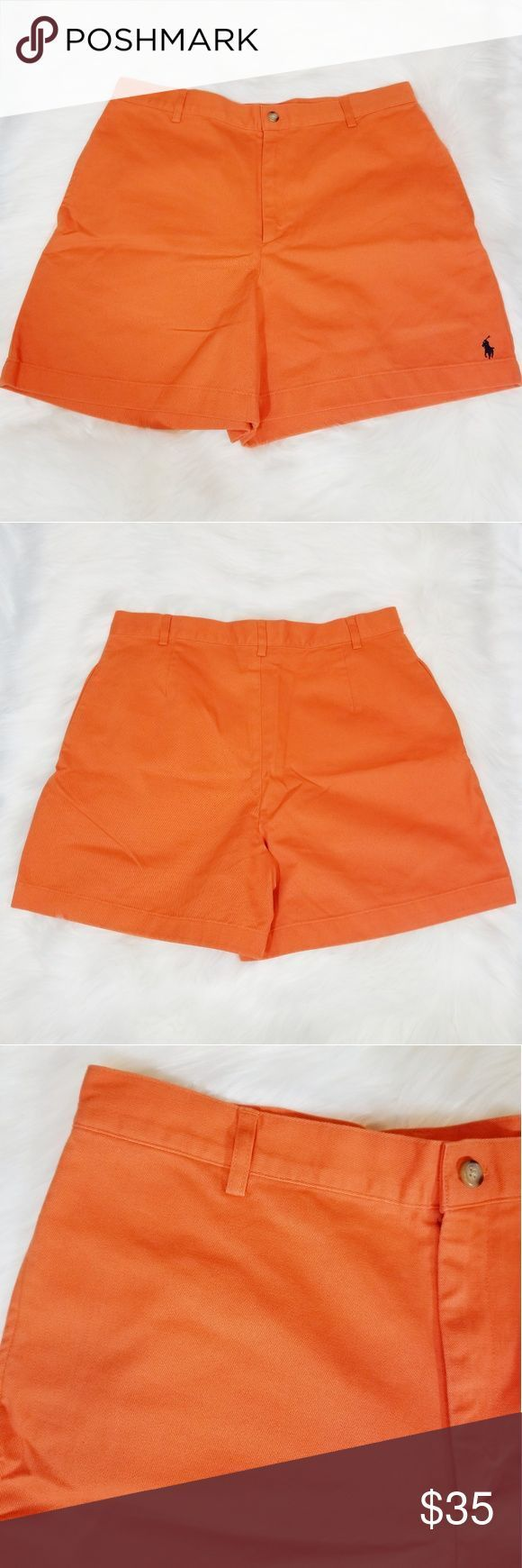 {Ralph Lauren Sport} Orange bescheidene Shorts Super Shorts von Ralph Lauren Spo …   – Shorts