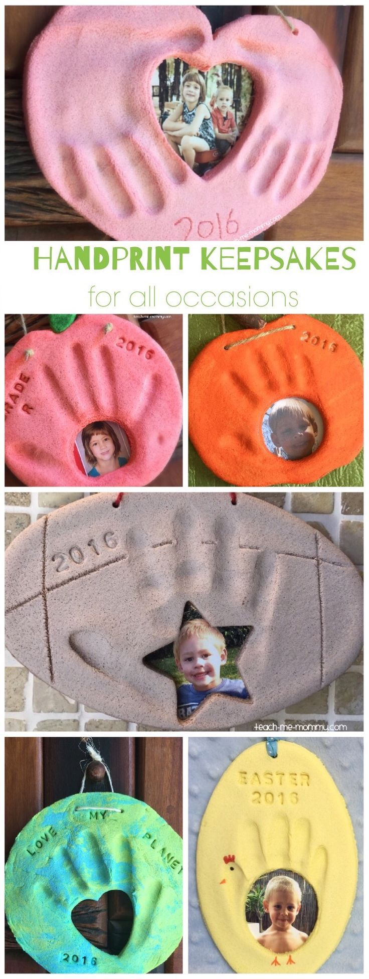 Handprint Keepsakes for all Occasions