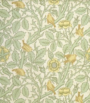 Tom Tit Wallpaper, William Morris and Co.