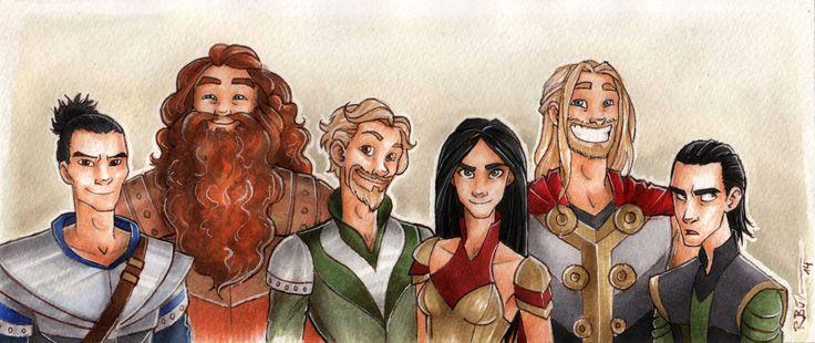 Warriors of Asgard by CaptBexx on DeviantArt