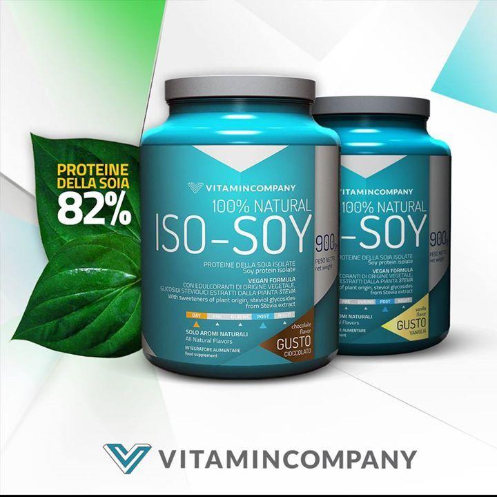 ISO -SOY è un integratore alimentare di proteine della soia con edulcoranti di origine vegetale, in polvere. Senza derivati animali è adatto anche all'alimentazione di vegetariani e vegani. ISO SOY ha matrice proteica basata al 100% su isolato di proteine della soia.