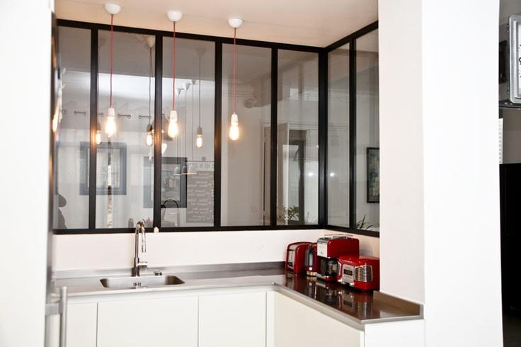 Fen tre d 39 atelier cuisine id es pour la maison for Decoration fenetre atelier