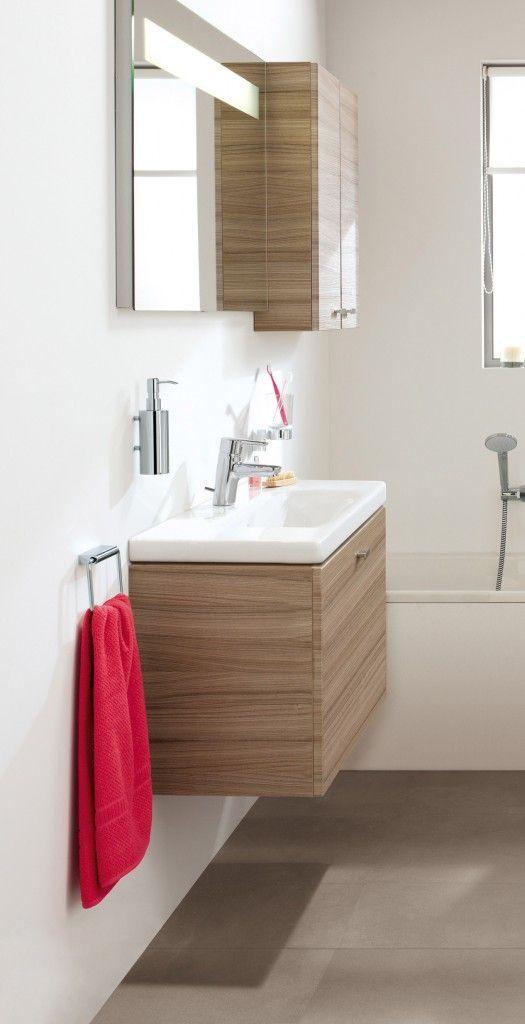"""#Lavabi combinabili con differenti mobili salvaspazio e specchi; sanitari fino a 6 cm più piccoli di quelli """"normali""""; box e piatti doccia di dimensioni e forme particolari."""