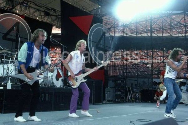 Foreigner  Lou Gramm in July 1982