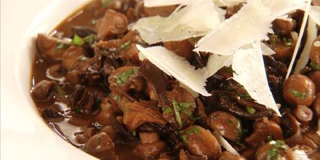 Chuck Hughes' mushroom stew is an earthy, fragrant and rich tasting side dish, and yet so easy to prepare.