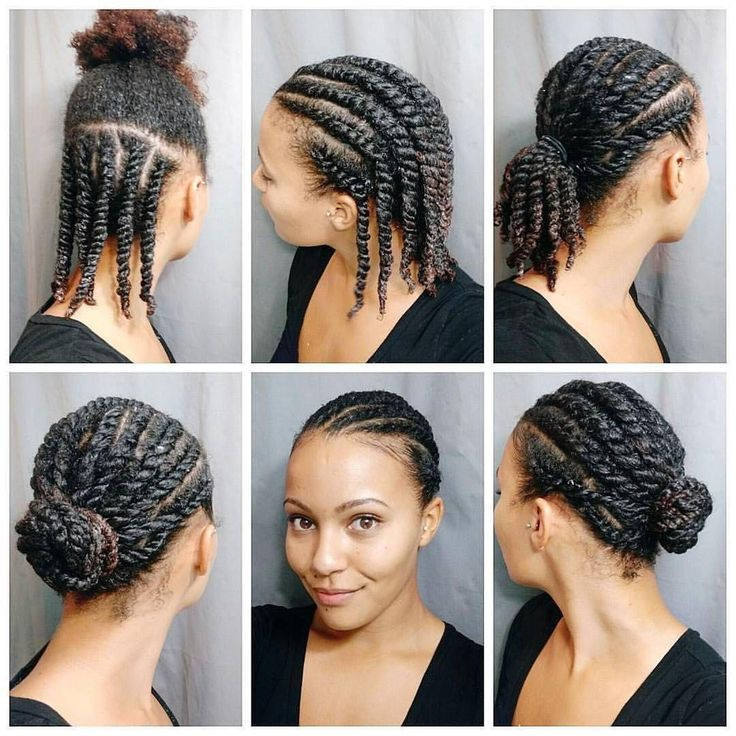 I love this! #Repost @stasialovescurls ・・・ Back to my regularly scheduled hair styling!   I washed and deep conditioned my hair and then did some flat twists and styled them in a low bun. Super simple and neat. I like to do a top and bottom section of flat twists to make it easier to detangle and moisturize my hair.  #flattwist #naturalhairtutorial