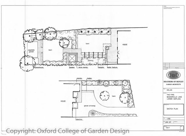 28 best Town Garden Plans images on Pinterest Landscape design