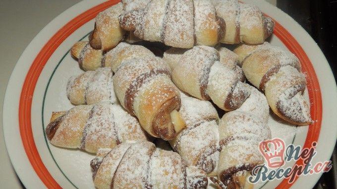 Dvoubarevné výborné croissanty | NejRecept.cz