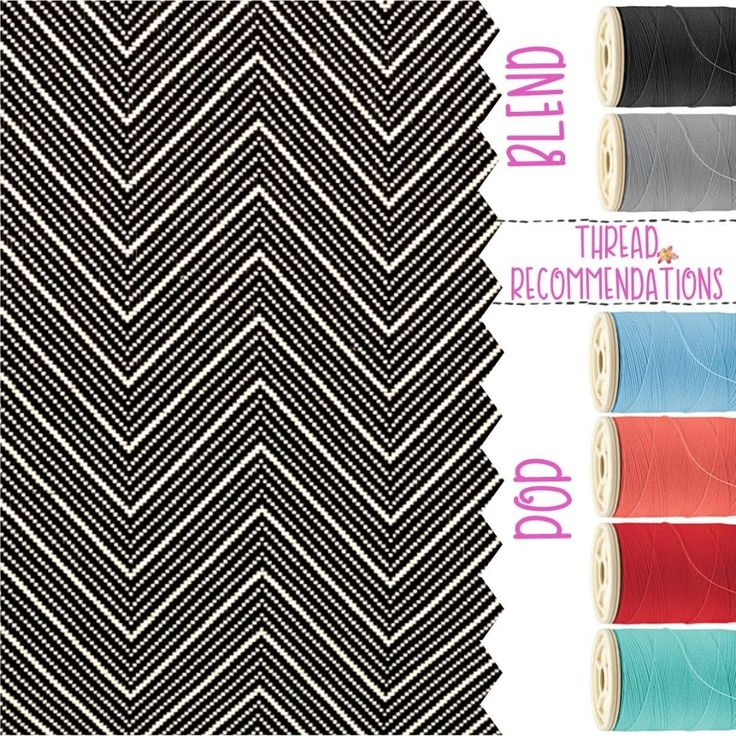Herringbone Weave  Personalization Recommendations Thirty-One Fall 2017 #TOTEallyAddicted www.TOTEallyAddicted.com #ThirtyOne #ThirtyOnePersonalization #ThirtyOneFall2017 #HerringboneWeave #ThreadColors