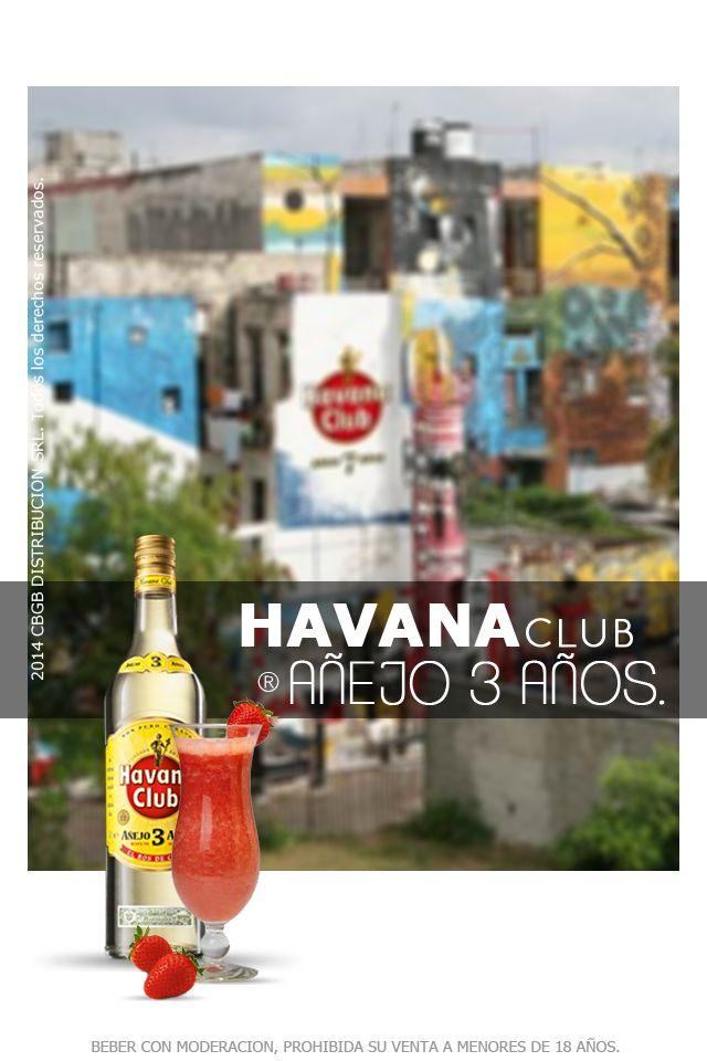 ¡Havana Club Añejo 3 Años es el único ron que le dará a tu Mojito su auténtico sabor cubano! El proceso de añejamiento de tres años permite que el néctar se empape del ambiente circundante, el optimismo y la pasión. Las notas de vainilla, pera caramelizada, plátano y un toque a roble ahumado que cosquillea la nariz dan al ron su aroma típicamente cubano, mientras que el chocolate y la vainilla harán las delicias del paladar.