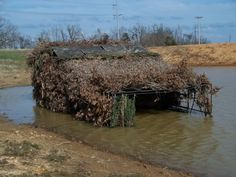 duck blinds | For Sale: A Duck Hunters Dream Blind**$2000** : Duck Hunting Chat ...