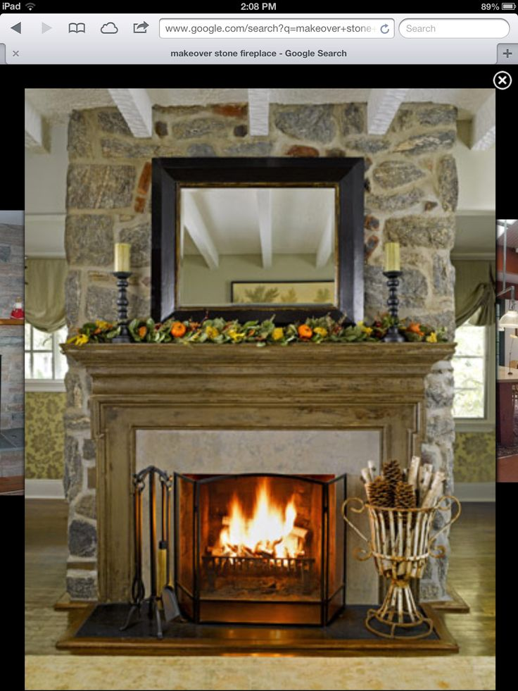 Stone Fireplace Decorating Ideas 22 best rock fireplace images on pinterest | fireplace ideas