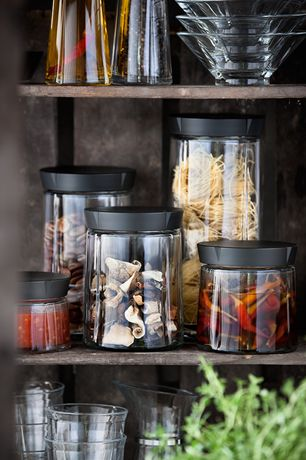 Pojemnik kuchenny - GRAND GRU || The jar is ideal for storage of products such as dried fruits, seeds, granola, coffee, or tea.