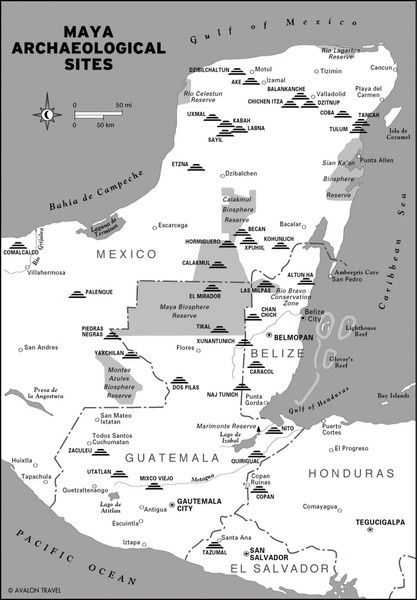 Mayan Archaeological Sites. I would love to visit the Mayan ruins